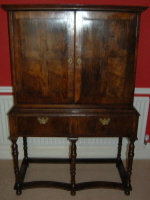 Chest on Stand repaired and restored