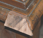 Repairing corners and mouldings