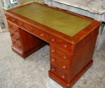 Repaired and restored pedestal  desk