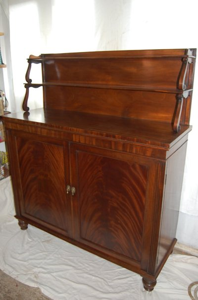 Repaired and restored chiffonier