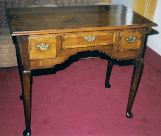 Restored oak desk