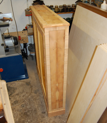 Building the Yew DVD cabinet
