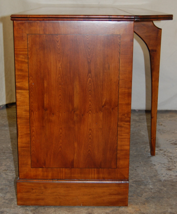 Yew TV Cabinet - side view